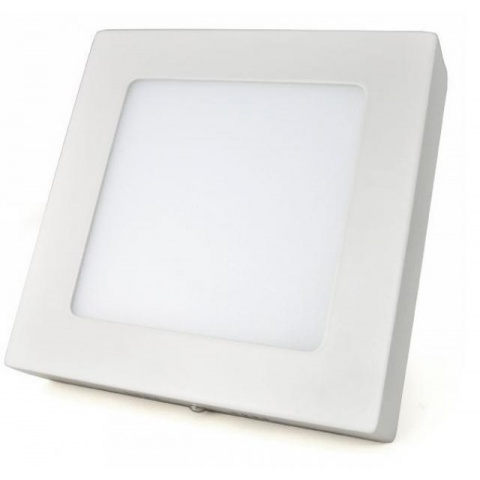 Prisadený LED panel 24W Neutrálna biela, biely rám