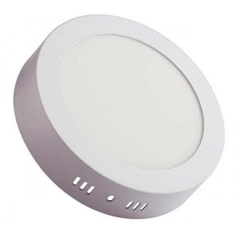 Prisadený LED panel 12W Neutrálna biela, biely rám