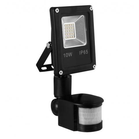LUMIXA LED reflektor 10W teplá biela + senzor pohybu SLIM