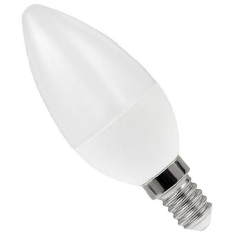 LED žiarovka 6W Teplá biela SMD2835 E14