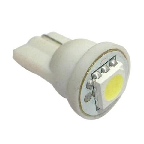 LED auto žiarovka T10 LED 0,2W 12V studená biela