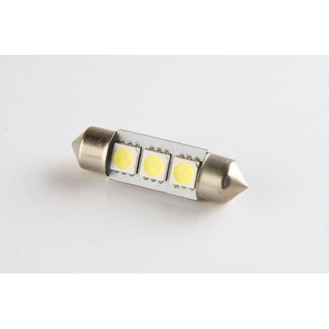LED auto žiarovka 36mm C5W 3 SMD5050