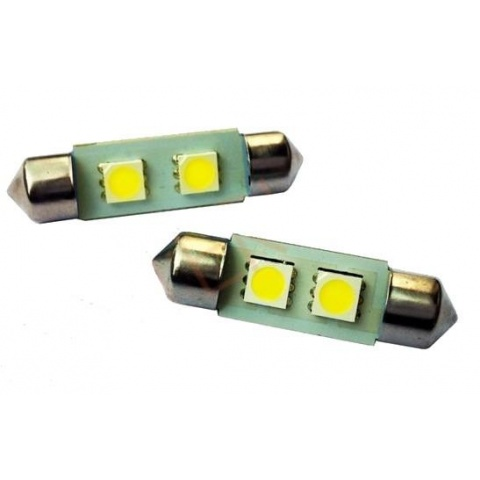 LED auto žiarovka 39mm C5W 2 SMD5050