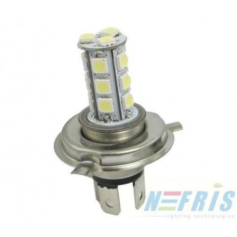 LED auto žiarovka H4 18 SMD5050 3.5W