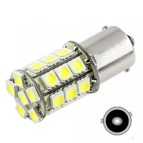 LED auto žiarovka BA15S 27 SMD5050 Py21W