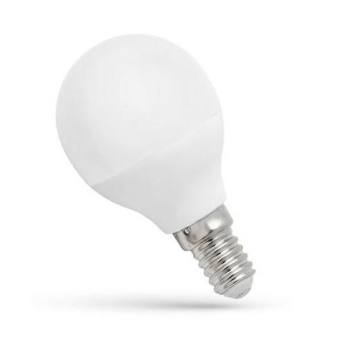 LED žiarovka 6W Studená biela SMD2835 E14