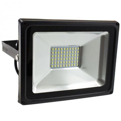 BRG SMD LED reflektor 50W Teplá biela