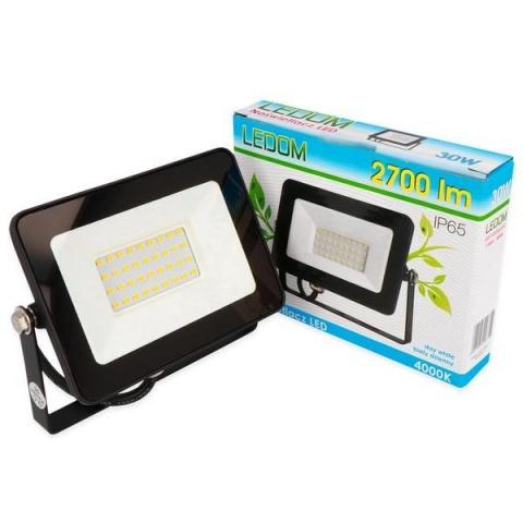 LED reflektor LEDline 30W SLIM Neutrálna biela