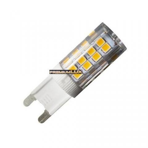 LED žiarovka 4W 51 LED SMD 2835 teplá biela G9