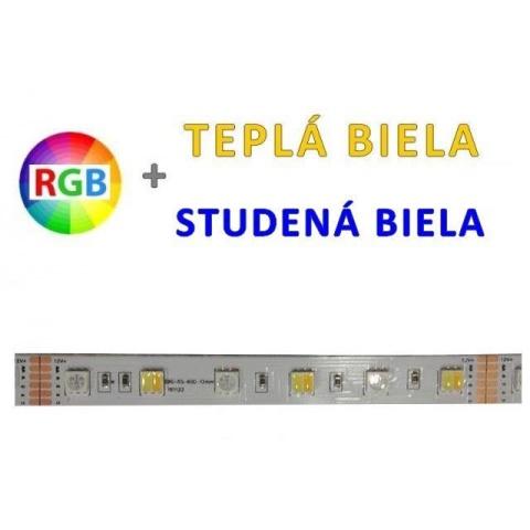 1m LED pás 14.4W/m 60 SMD5050 RGB+WW&CW IP20