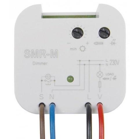 Stmievač pre LED a úsporné žiarovky ELKO-SMR-M 230V