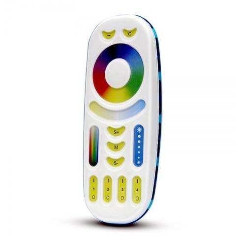 MiLight 4 zonový dotykový RF RGB ovládač - multiremote