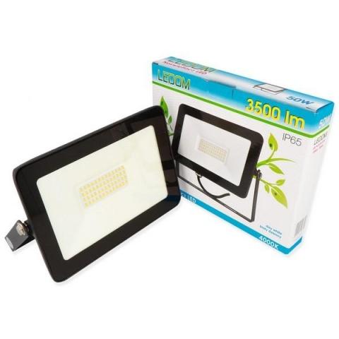 LED reflektor LEDline 50W SLIM Neutrálna biela