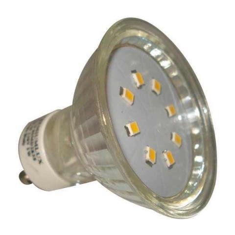 LED žiarovka GU10 SMD2835 1W Neutralna biela
