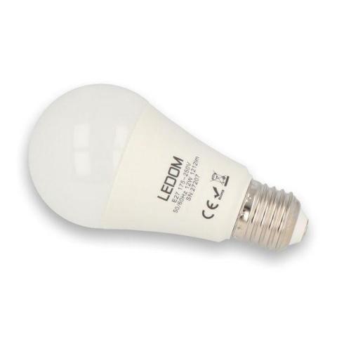 LED žiarovka 12W  Teplá biela SMD 3535 E27