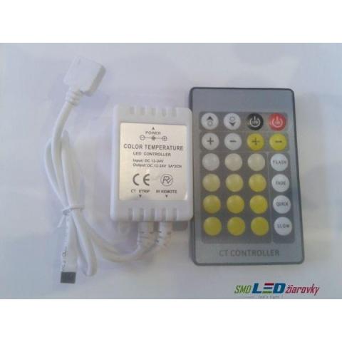 Diaľkové ovládanie pre BI LED pásik