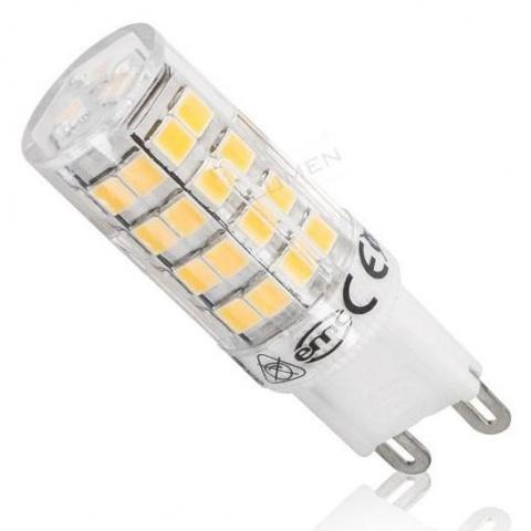 LED žiarovka 4W Studená biela 51 SMD2835 230V G9