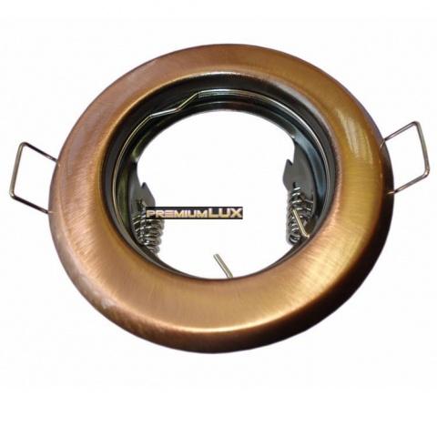 Podhľadové bodové svietidlo ALFA staré zlato