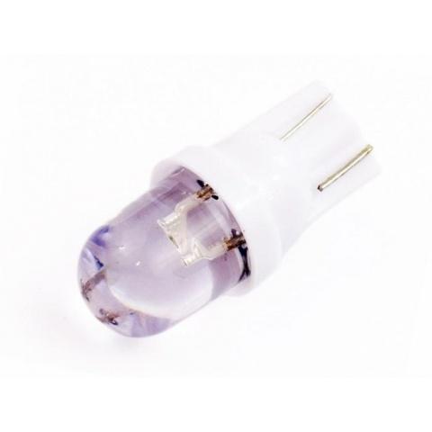 LED auto žiarovka T10 LED 0,3W 12V studená biela