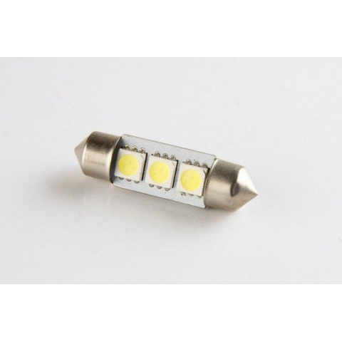 LED auto žiarovka 39mm C5W 3 SMD5050