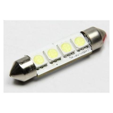 LED auto žiarovka 39mm C5W 4 SMD5050