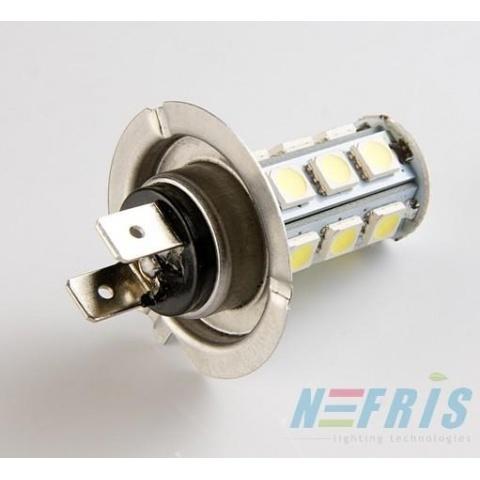 LED auto žiarovka H7 18 SMD5050 3.5W