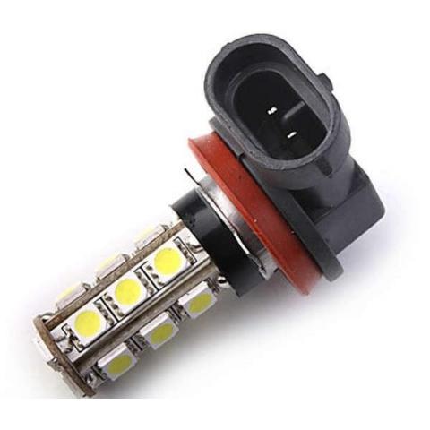 LED auto žiarovka H11 18 SMD5050 3.6W