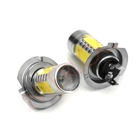 LED auto žiarovka H7  4x COB + 1x CREE Q5 11W