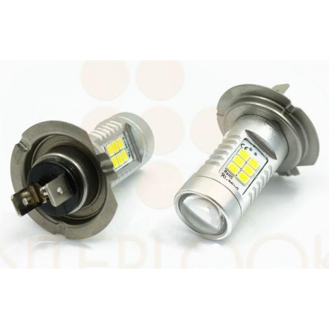 LED auto žiarovka 6W 21 SMD 2835 H7