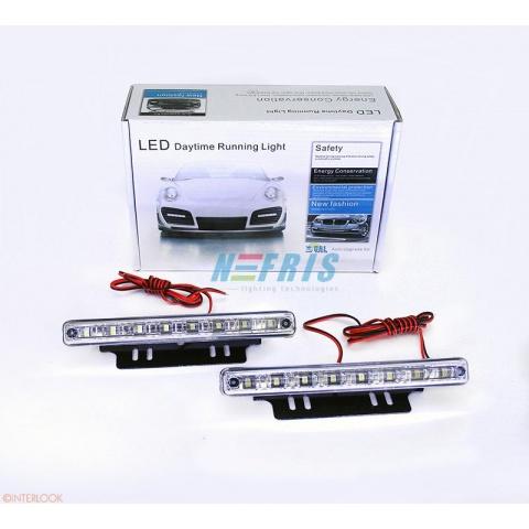LED denné svietenie DRL 02A automat