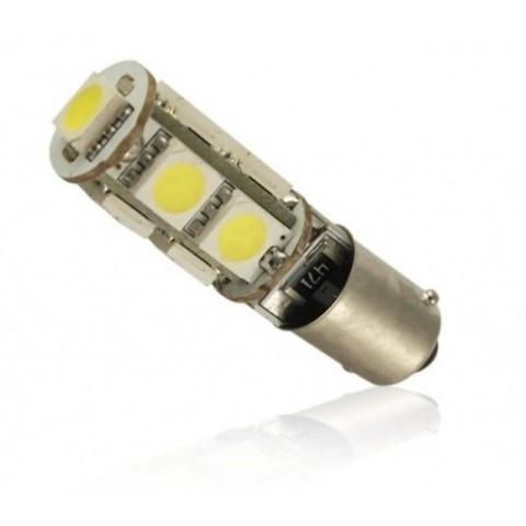 LED auto žiarovka BA9S 9 SMD5050 CANBUS