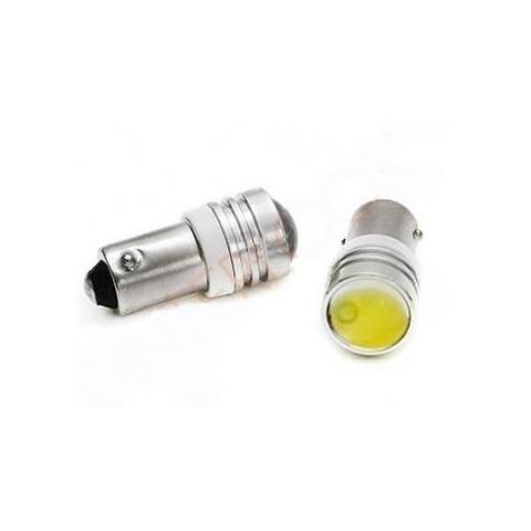 LED auto žiarovka T4W BA9s 3W HIGH POWER šošovka