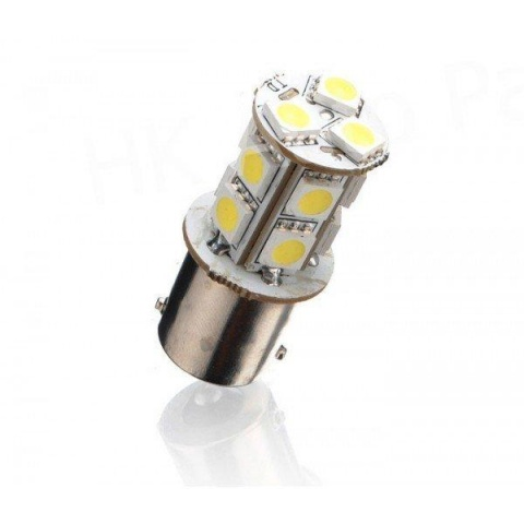 LED auto žiarovka BA15S 13 SMD5050 P21W