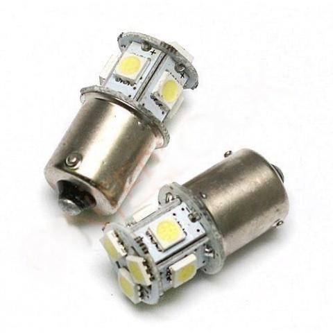 LED auto žiarovka BA15S 8 SMD5050