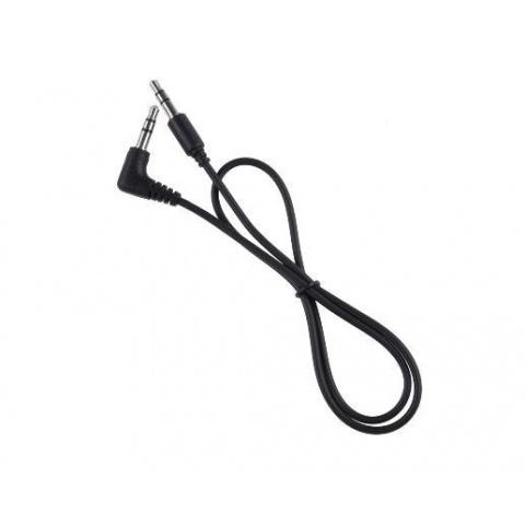Kábel Jack 3,5mm - Jack 3,5mm, 0,5m rovný/rohový