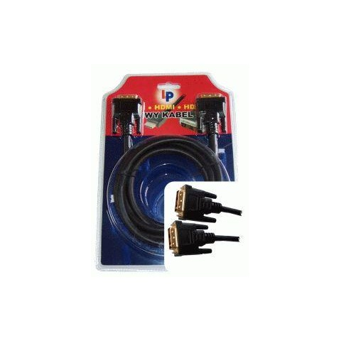 Kábel DVI - DVI,  1,8m blister