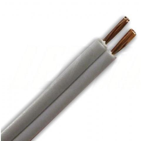 2 žilový kábel 0,35mm2 biely
