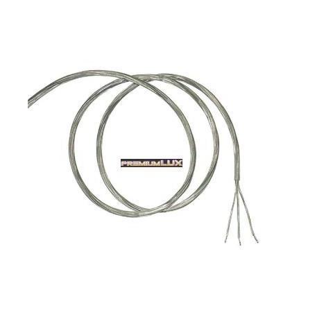 Kabel 3 žilový transparentny 3x0,75mm2 1m do przeróbki lamp do wyłącznika świecznikowego .