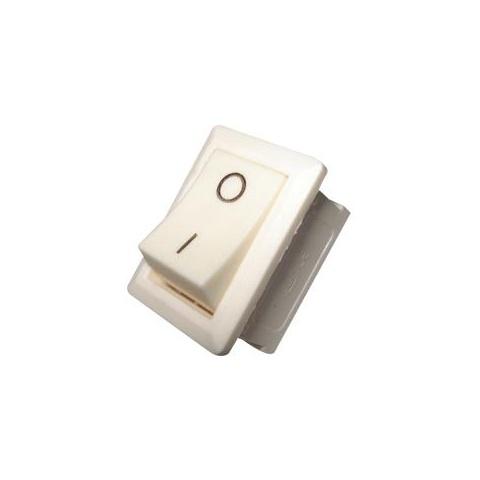 Biely kolískový prepínač