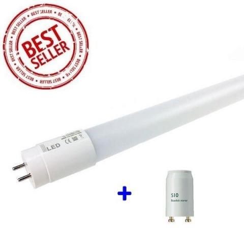 120cm LED Trubica 18W NANO T8 CCD G13 Studená biela