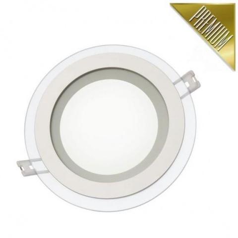 LED panel FIALE vstavaný 12W Neutrálna biela, sklo