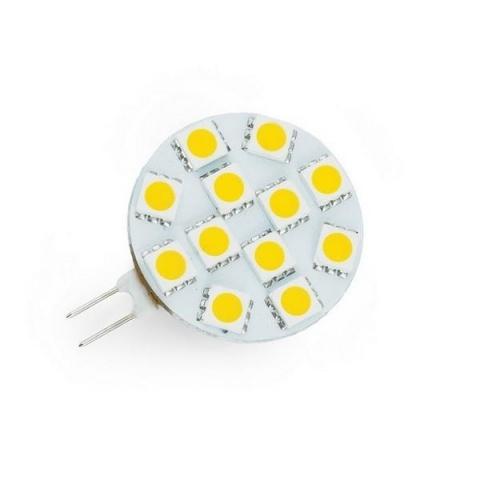 LED žiarovka 12 SMD5050, 2W, Studená, G4