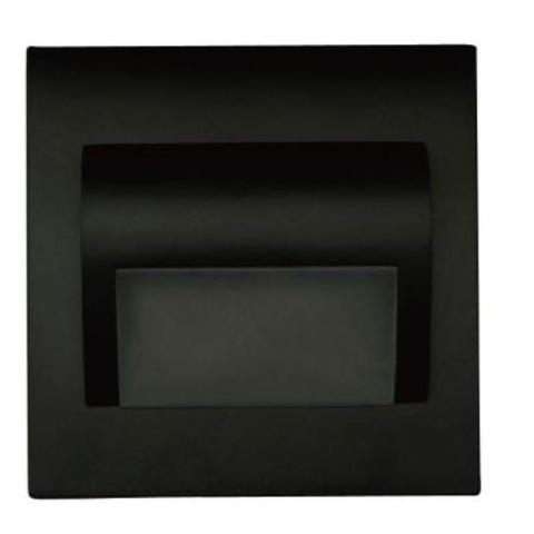 Svietidlo Beryl Black 1.5W 12V DC Teplá biela