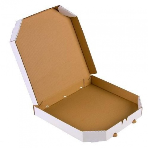 Krabica na pizzu 320x320x40mm E 390g 10ks