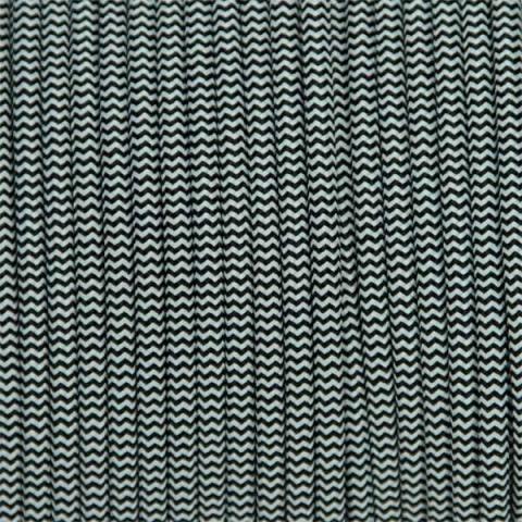 Kabel 2 žilový čierno-biely 2x0,75mm2 1m