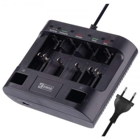 Nabíjačka batérií EMOS UNI6