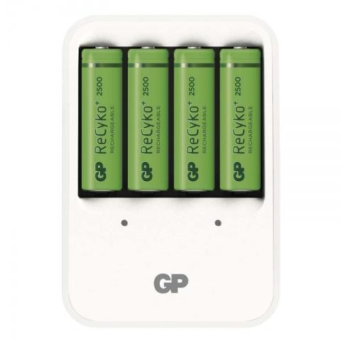 GP nabíjačka batérií PB420 + 4 x GP ReCyko+ 2500