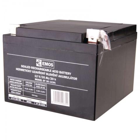 Olovený akumulátor SLA 12 V 26 Ah L2, AGM