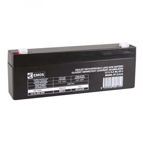 Olovený akumulátor SLA 12V 2,2Ah FA4,7,AGM