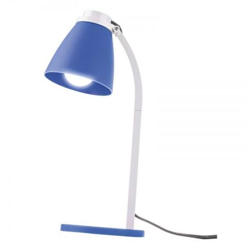 Stolná lampa Lolli s LED žiarovkou modrá